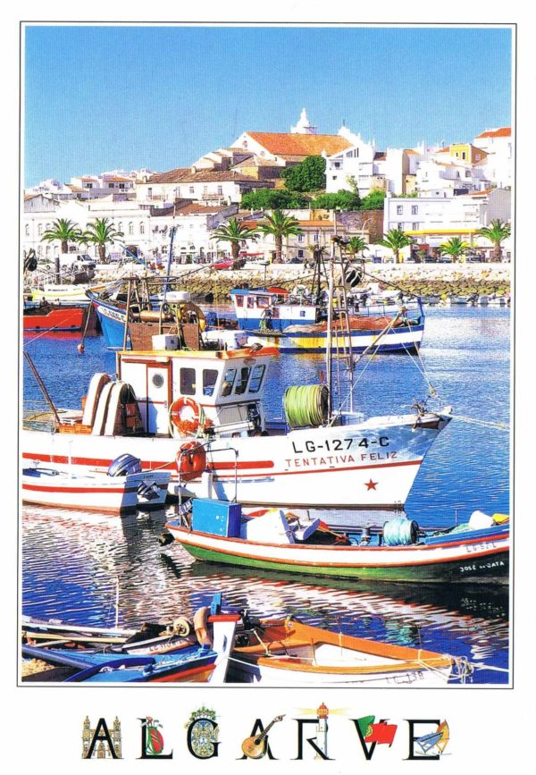 Postal de Papel do Algarve