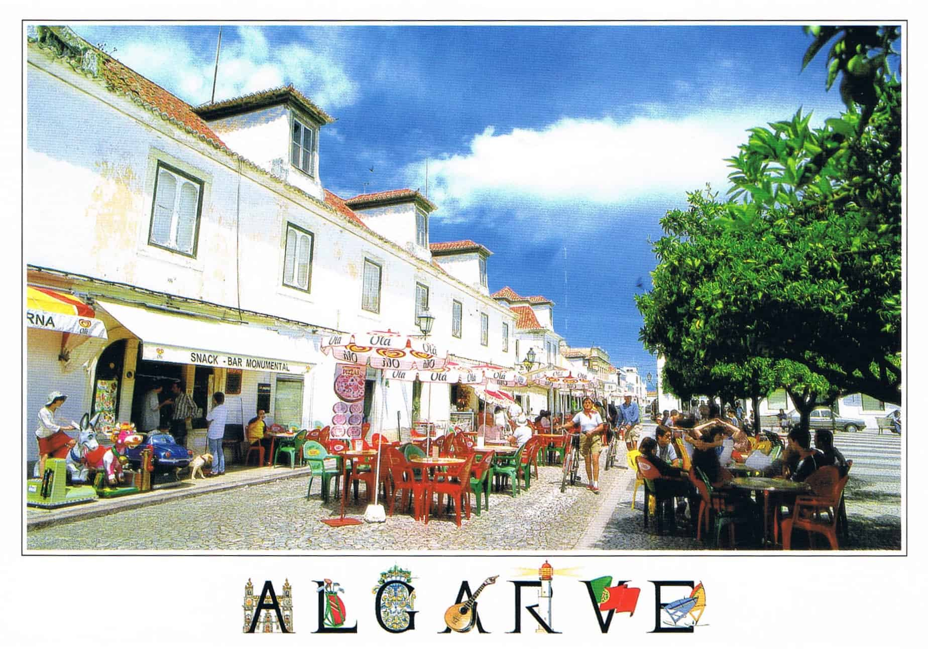Postal de Papel do Algarve, Vila Real de Santo antonio