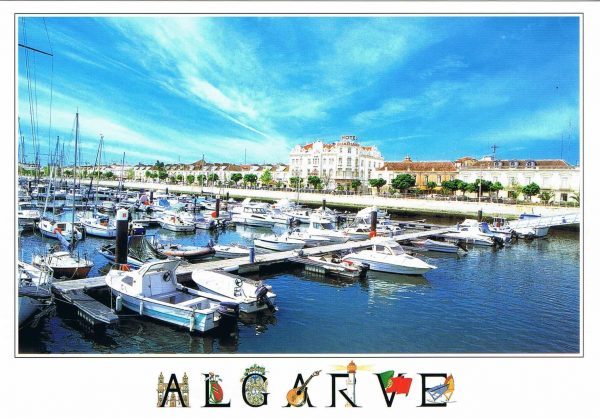 Postal de Papel do Algarve, Barcos em vila real do santo antonio