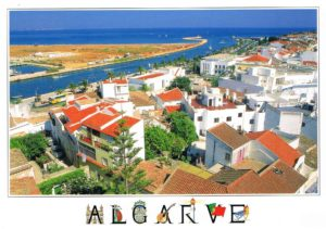 Postal de Papel do Algarve - Vista de Lagos