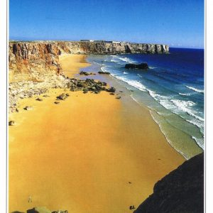 Postal de Papel do Algarve Sagres